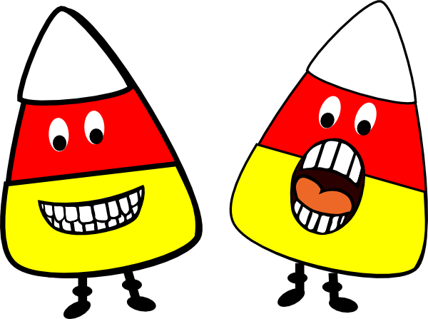 Candy corn clipart free