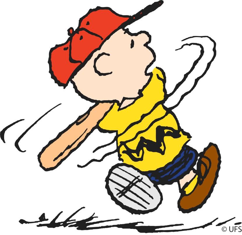 Cartoon baseball clipart