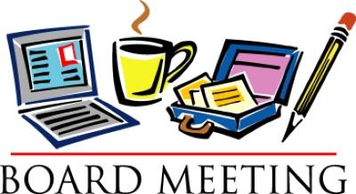 Church business meeting clipart