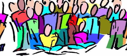 Church meeting clipart 2