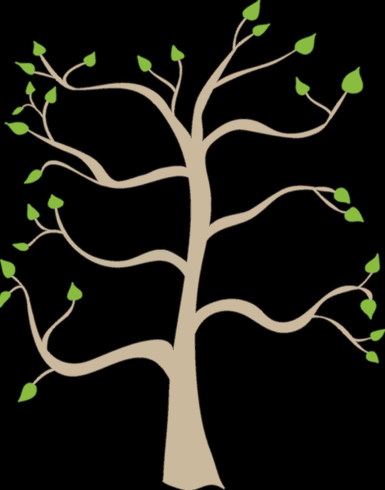 Clip art family tree clipart