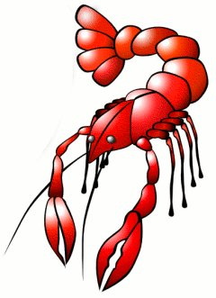 Clip art lobster clipart 3