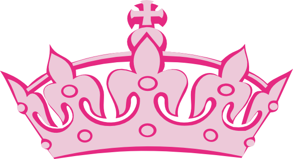 Clip art pink tiara clipart 2