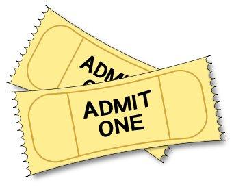 Clip art ticket clipart 6