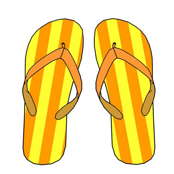 Clipart flip flops on clip art and free 2