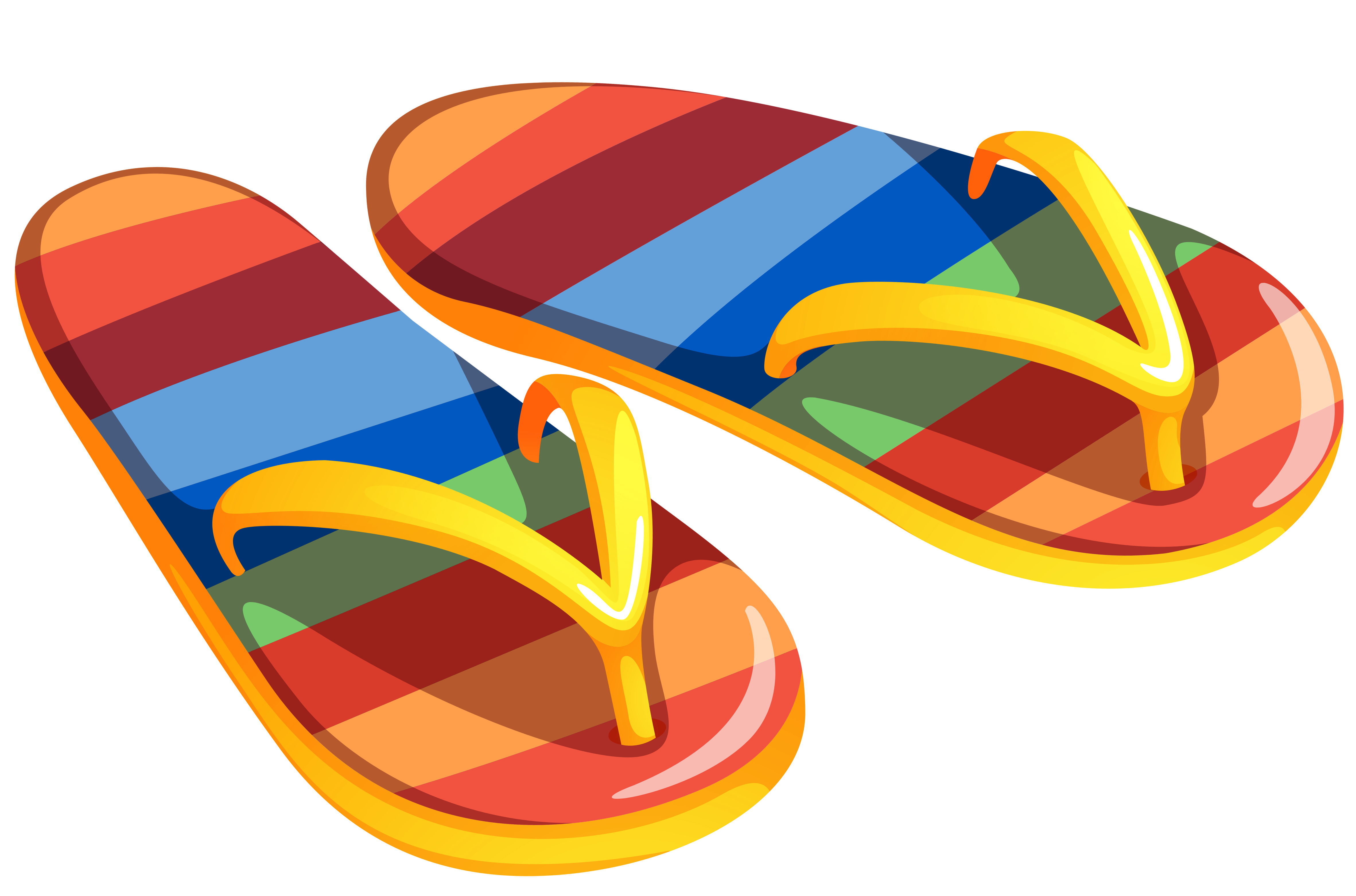 Clipart flip flops on clip art and free
