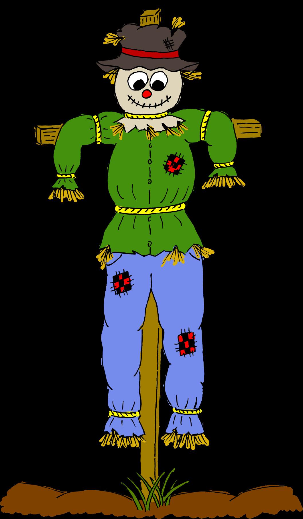 Clipart scarecrow