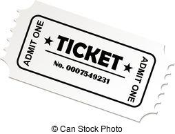Clipart theatre ticket