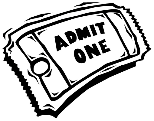Clipart ticket clipart 3