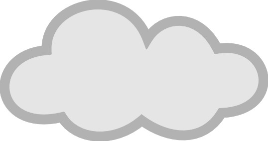 Cloud clip art black and white free clipart images 2 famclipart