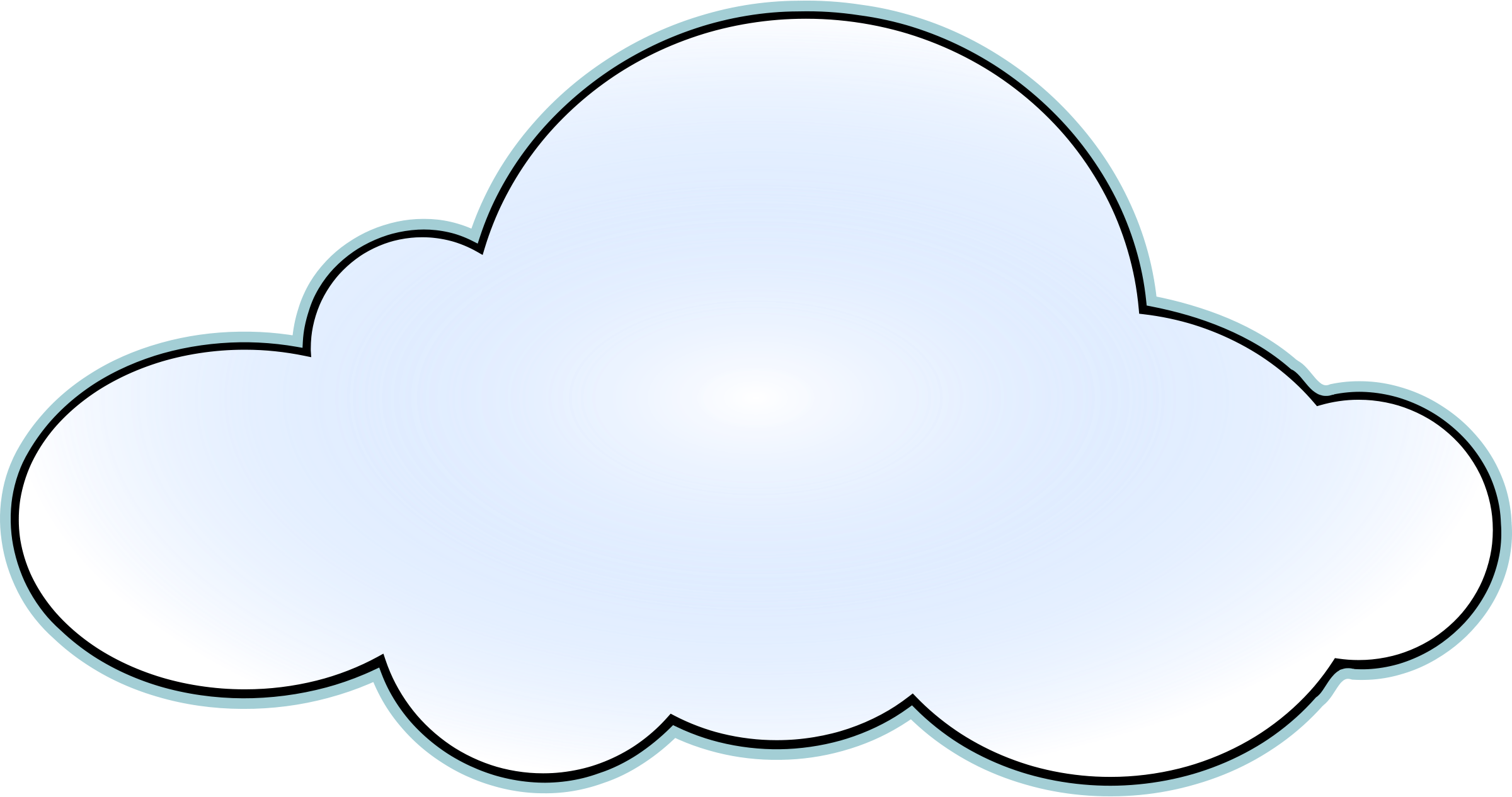 Cloud clipart free images 2