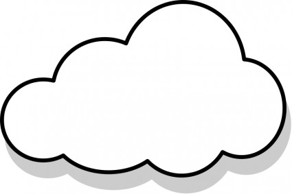 Cloud clipart free images 3