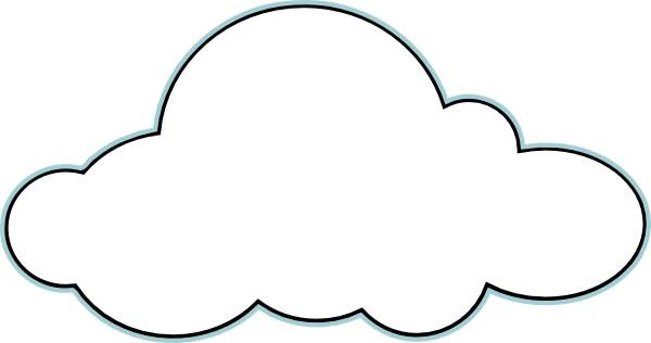 Cloud clipart free images 4