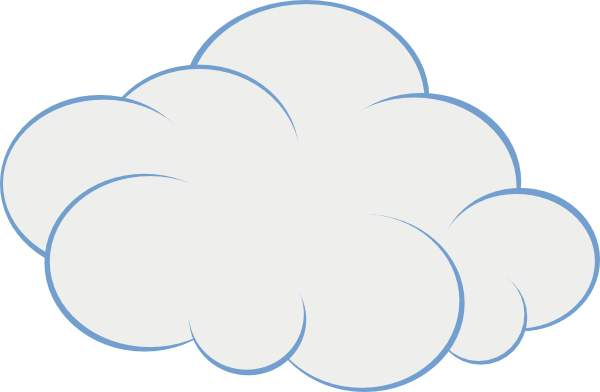 Cloud clipart free images 6