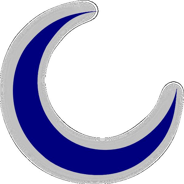 Crescent moon clipart 3