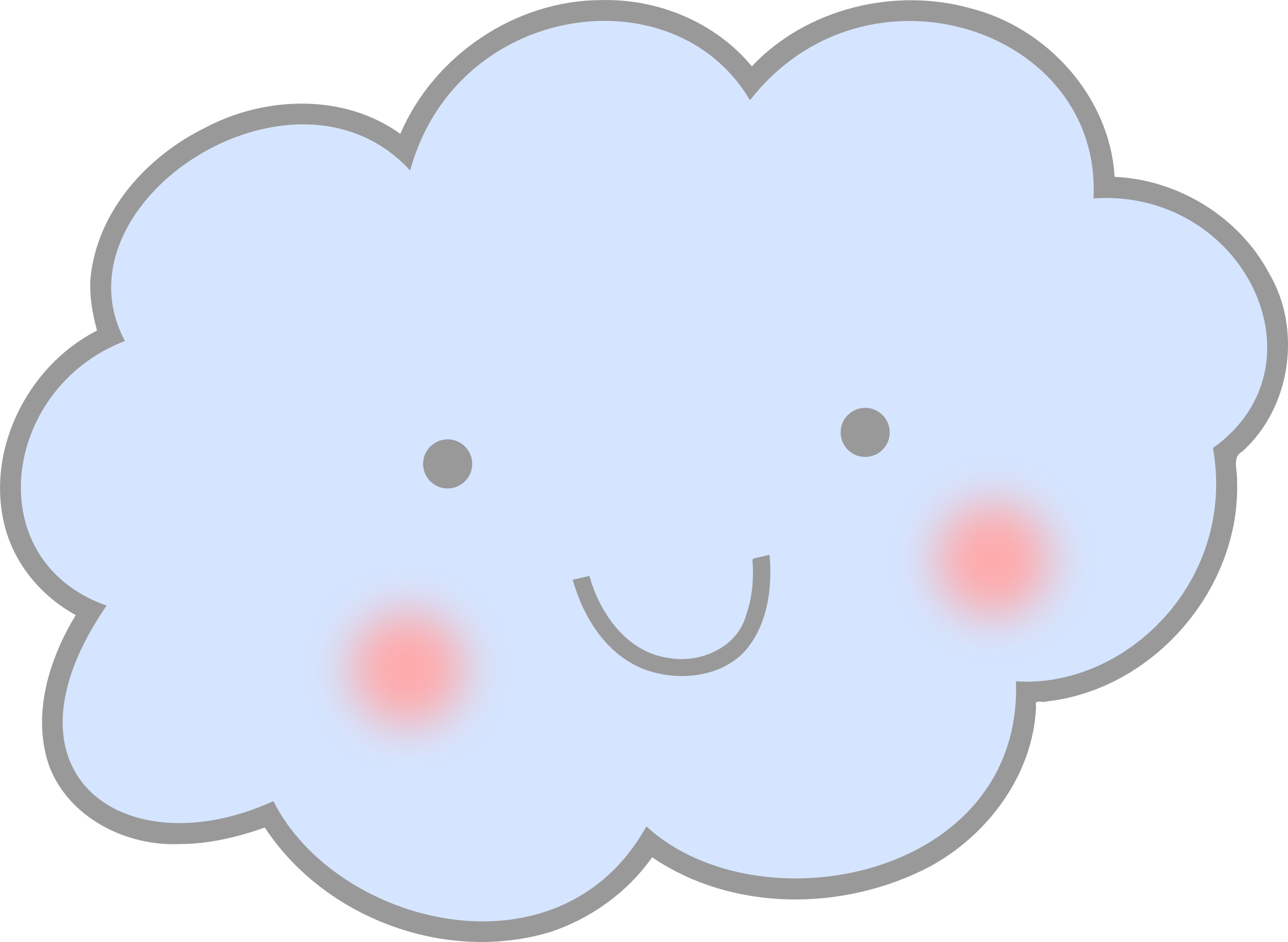 Cute cloud clipart
