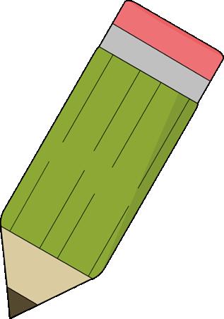 Cute pencil clipart 2
