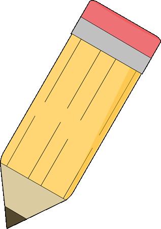 Cute pencil clipart
