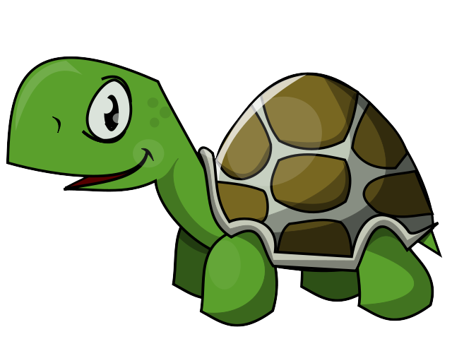Cute sea turtle clipart 4