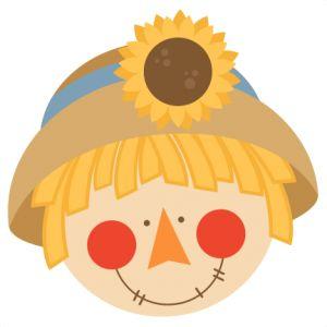 Cute toddler scarecrow clipart clipartfox