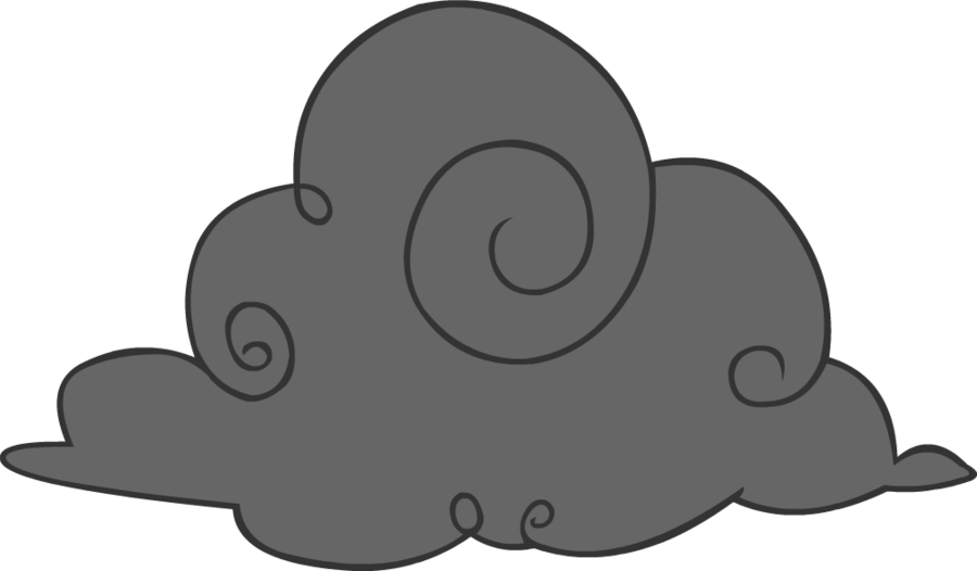 Dark cloud clipart free images 2