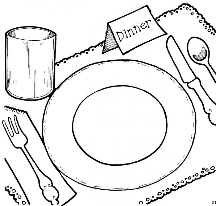 Dinner clipart 7