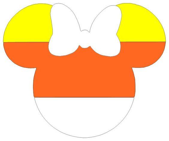 Disney minnie mouse halloween candy corn clip art mickey ears