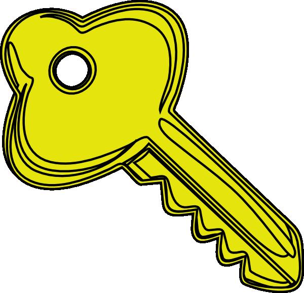 Door key clipart