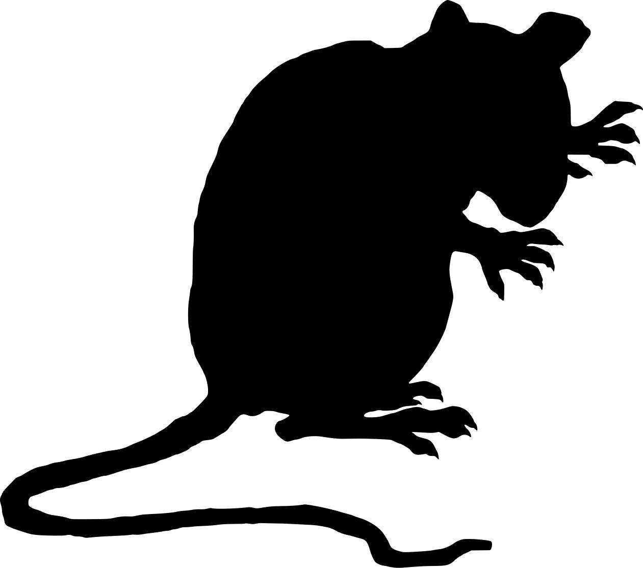 Evil rat clipart 4