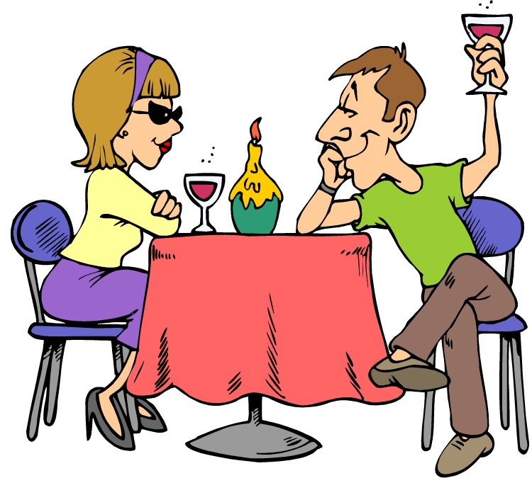 Family dinner clipart free images 4