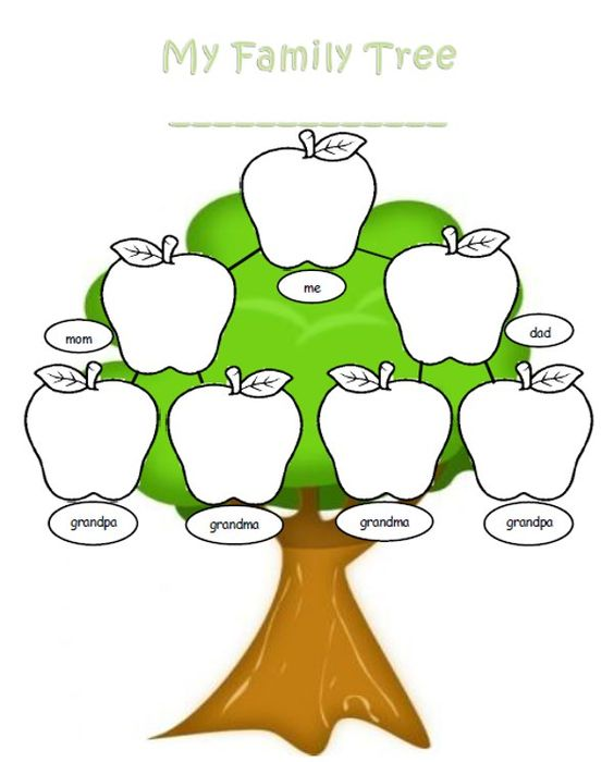 Family tree clipart free images 10