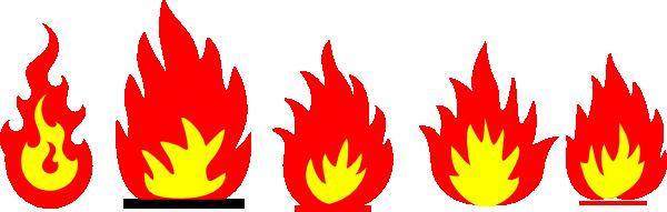 Fire clip art at vector clip art free