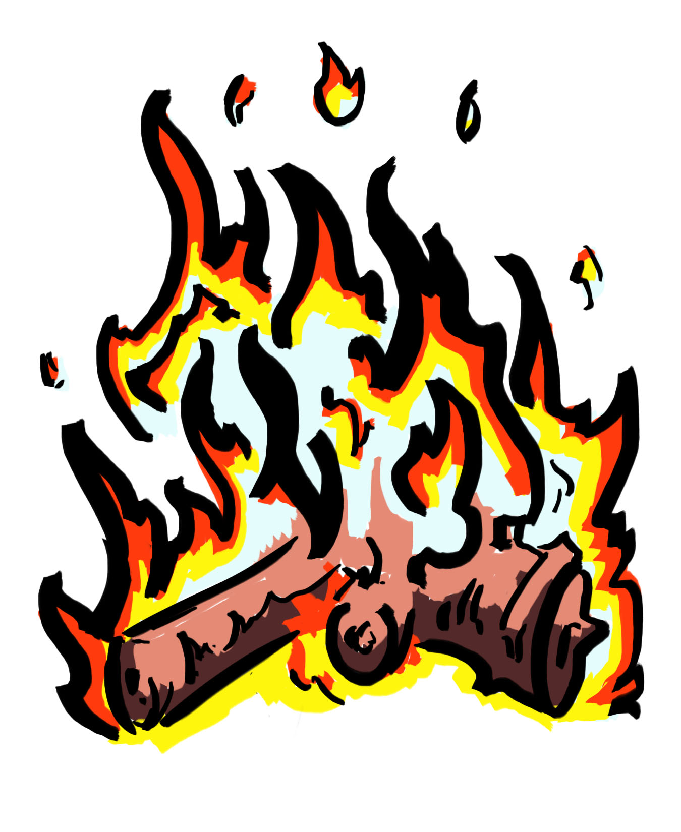 Fire clip art free download clipart images 3 famclipart