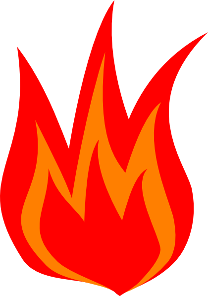 Fire flame cartoon free clipart images 3