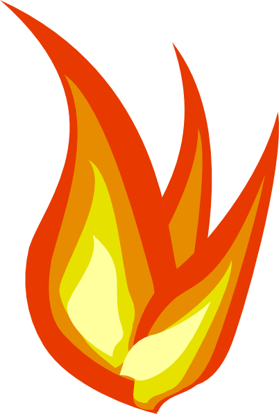 Fire flame clipart border free images