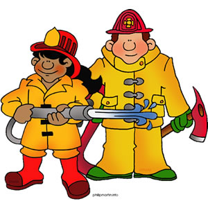 Firefighter clipart free images 3