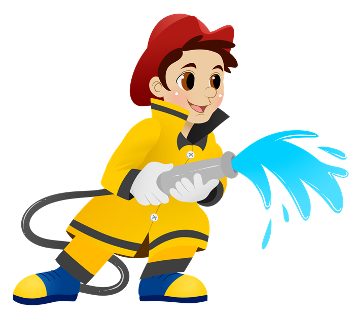 Firefighter clipart free images 7