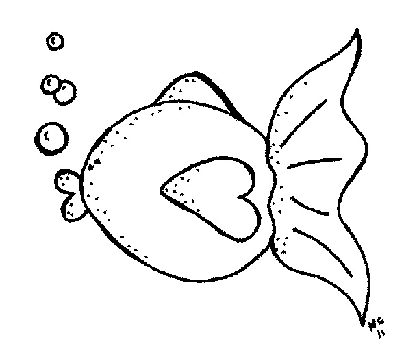 Fish  black and white black and white fish clipart cliparts others art inspiration