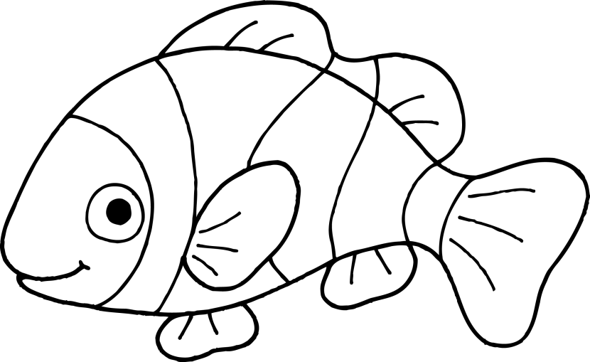 Fish  black and white clip art fish black and white