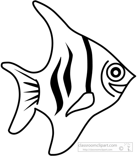 Fish  black and white cute fish clip art black and white free clipart 5