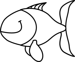 Fish  black and white cute fish clipart black and white free