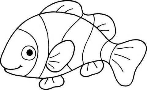 Fish  black and white fish black and white clipart 2