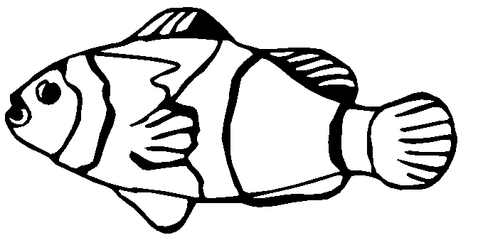 Fish  black and white fish clipart black and white 6