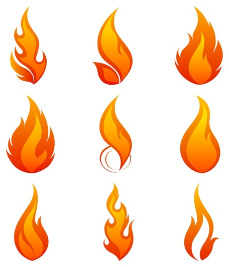 Flame fire clipart clipart