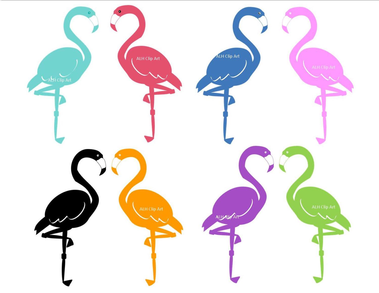 Flamingo clip art digital free clipart images