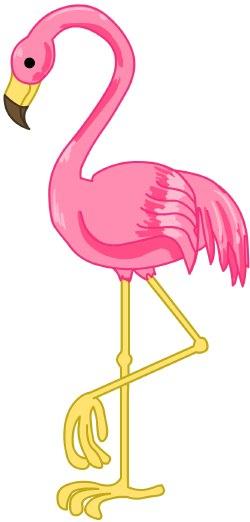 Flamingo clip art free clipart images 2