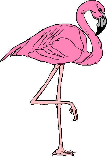 Flamingo clip art free clipart images 5