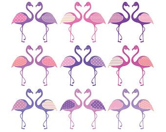 Flamingo clipart 9