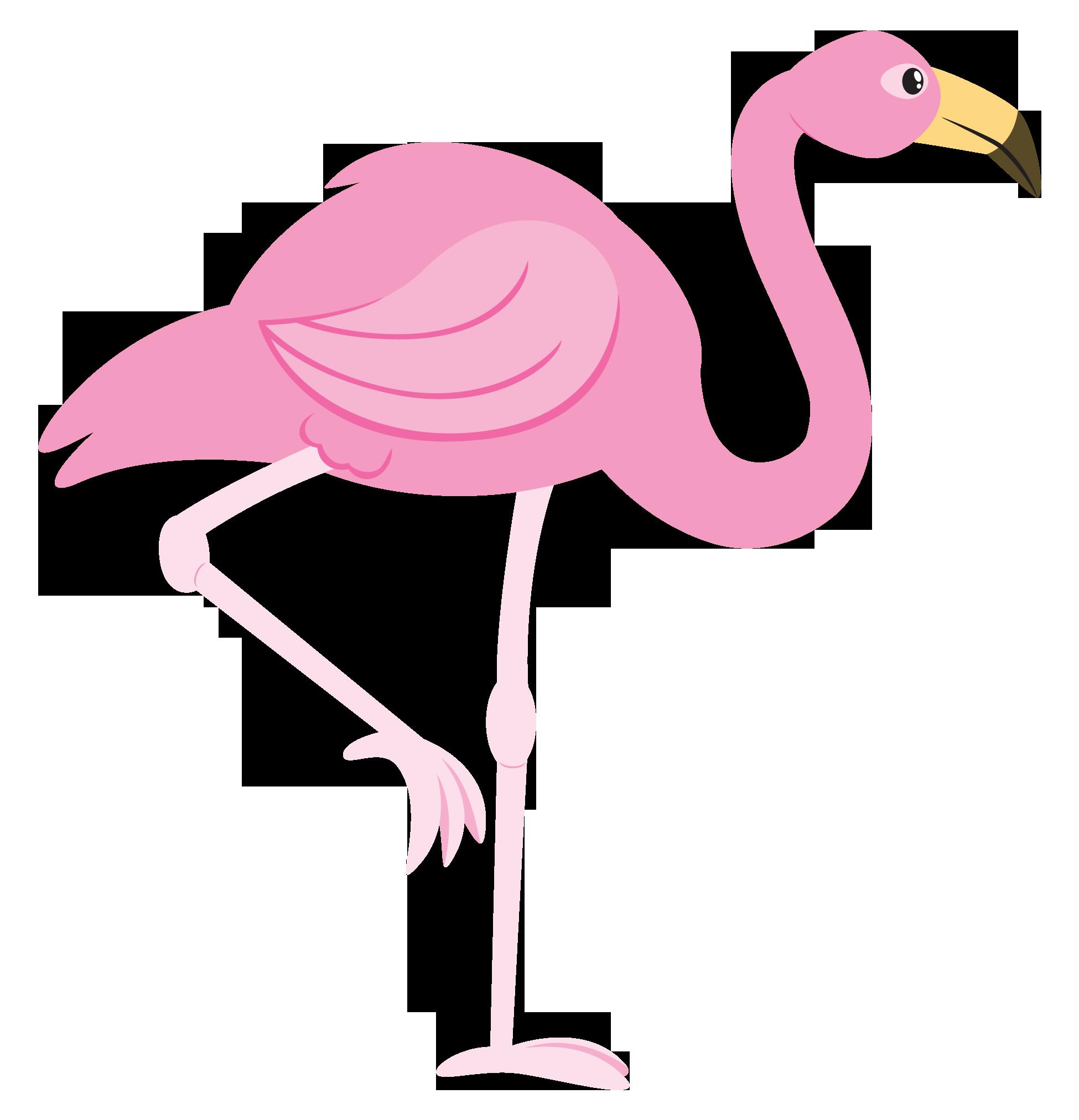 Flamingo free to use clip art
