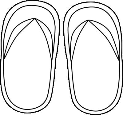 Flip flop clip art images 9